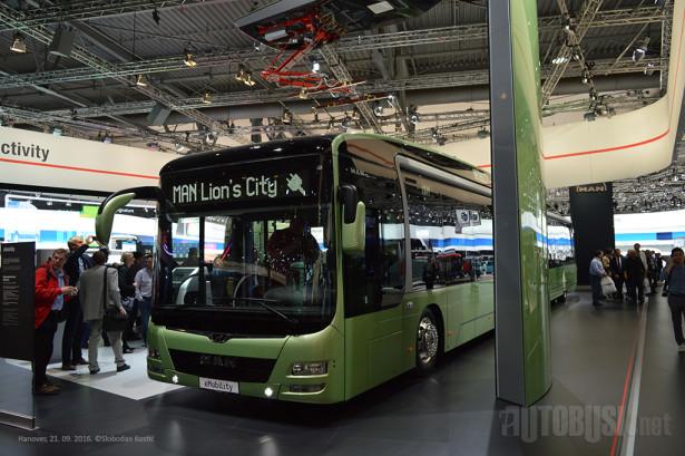 MAN predstavio novi električni autobus tek 2016. godine. © Slobodan Kostić