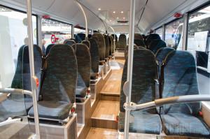 Putnici imaju 49 sedišta na raspolaganju, USB punjače i WiFi.