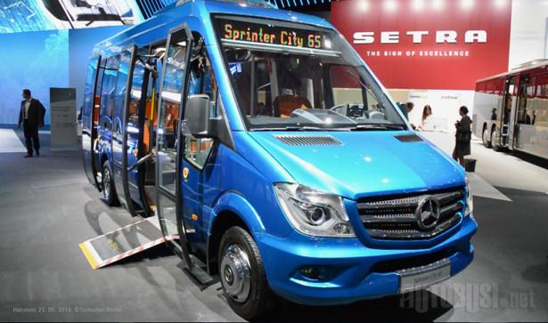 Mercedes-Benz Sprinter City 65, iz familije koja je debitovala na IAA 2010.