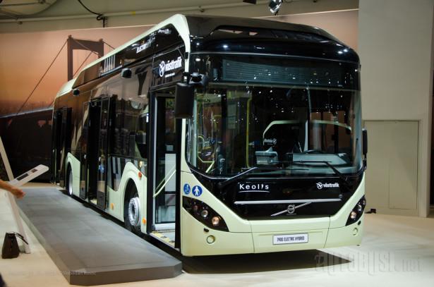 Volvo 7900 Electric Hybrid, čiji dizel motor služi kao generator u slučaju pražnjenja baterije.