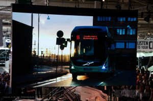 Linija 55 u Geteborgu, na kojoj saobraćaju isključivo Volvo električni autobusi, proslavila je godinu dana u saobraćaju.