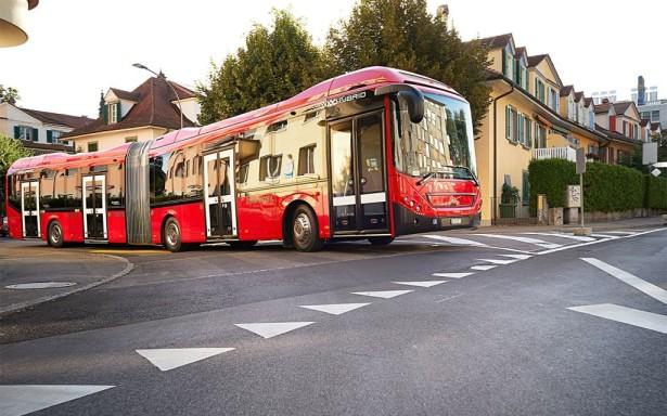 Tokom 30% vremena rada je dizel isključen, pa autobus radi isključivo na struju, gotovo bešumno.