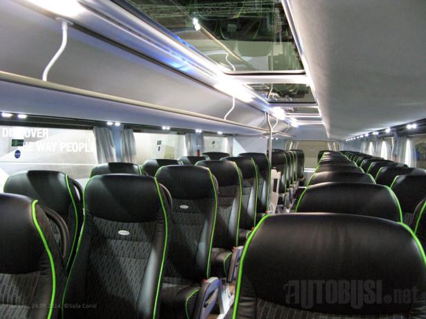 Visoki komfor za 83 putnika ©Saša Conić - Autobusi.NET