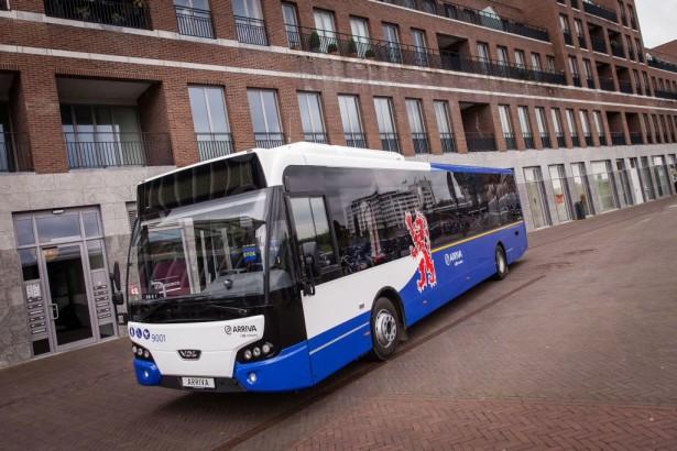 Jedan od 130 isporučenih niskoulaznih dizel autobusa VDL Citea LLE-120.