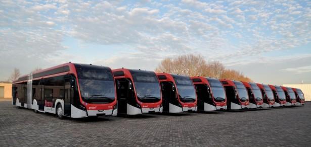 Jedan od najvećih flota električnih autobusa u Evropi.