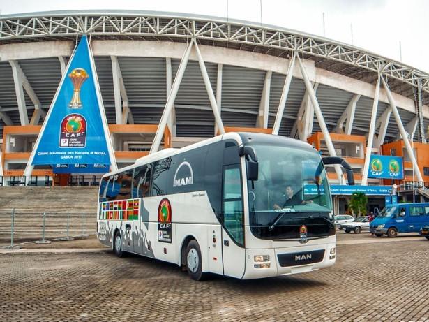 Brojni sistemi za bezbednu vožnju krase Lion's Coach za Afriku. © MAN Truck & Bus