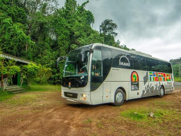 Poseban klima uređaj za afričke uslove. © MAN Truck & Bus