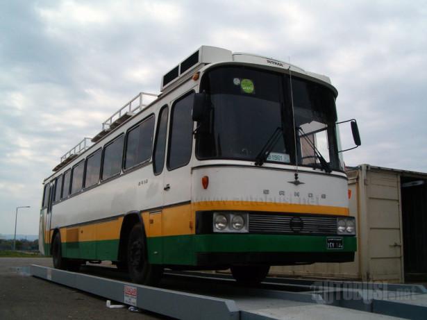 Autobus iz 1987. u novosadskom Neobusu. © Saša Conić