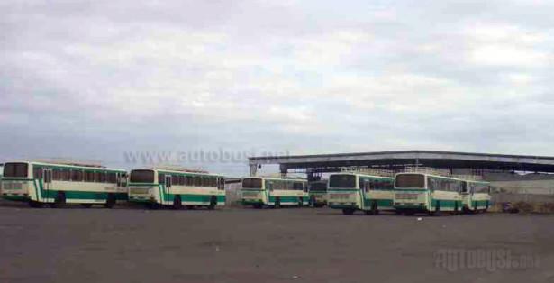 Garažirani Sanosi isporučeni 1992. godine, koji su služili samo za prevoz hodočasnika.