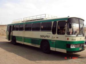 Jedan od Sanosa iz 1992. godine u arapskoj pustinji. © Autobusi.NET