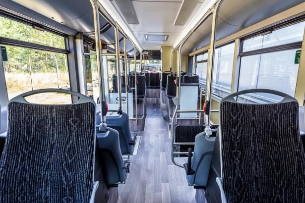 Promena dužine je izvršena samo na međuosovinskom rastojanju, dok su prepusti ostali isti. © Solaris Bus & Coach