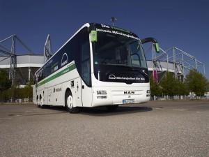 Borussia Mönchengladbach se vozi MAN autobusom od 2012. godine. © MAN Truck & Bus