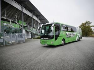 VfL Wolfsburg je jedan od prvih korisnika MAN autobusa. © MAN Truck & Bus
