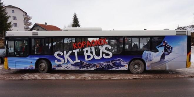 Pokrenut javni prevoz na Kopaoniku