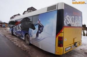 MAN A21 iz Švajcarske brendiran kao ski bus. ©infoKOP