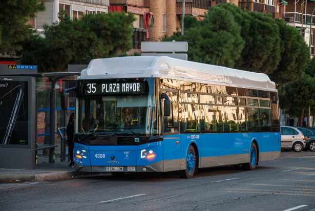 Madrid planira da ukloni dizel vozila sa ulica do 2025. godine. © Scania