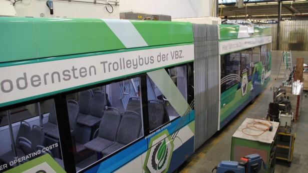 Do kraja 2018. prevoziće putnike na teškim ciriškim linijama. © VBZ