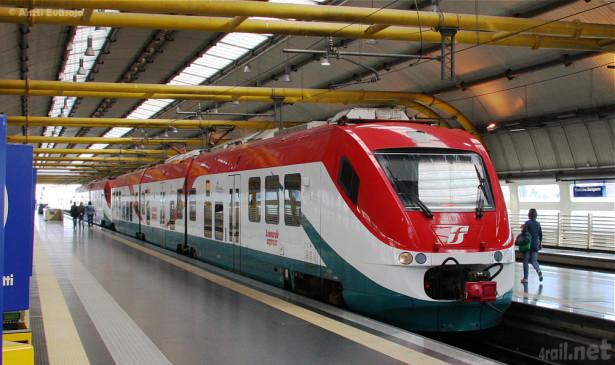 Leonardo Express, nazvan po najvećem aerodromu u Rimu. © 4rail