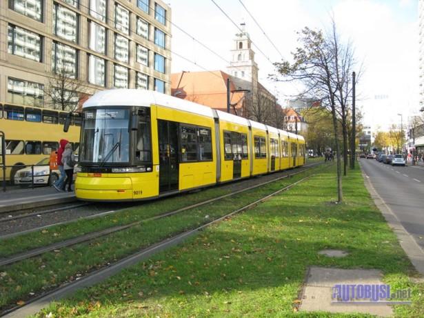 Tramvajski sistem je uglavnom razvijen u istočnom delu Berlina. © Saša Conić