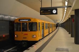 Linija U55 je odsečena šatl-linija koja će biti povezana sa linijom U5 do 2021. godine. © Slobodan Kostić