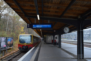 Stanica nadzemne železnice (S-Bahn) kod Olympia stadiona. © Slobodan Kostić