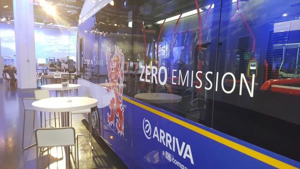 Evropsko društvo svesno ekoloških problema javnog prevoza. © VDV