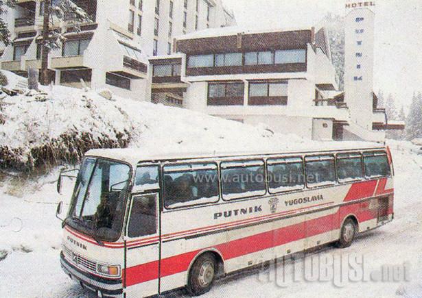 Setra S 215 HD Putnik Yugoslavia