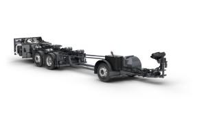 Šasija B8R ima široku ciljnu grupu vozila.   © Volvo Buses