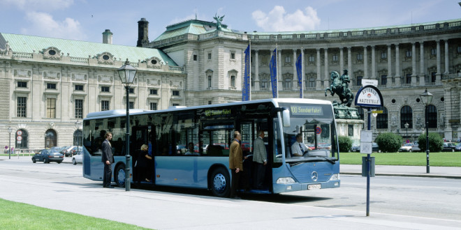 Mercedes-Benz auf dem Global Public Transport Summit in Montreal