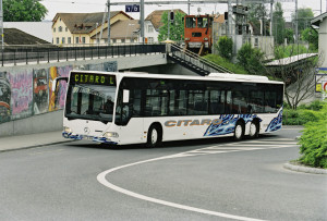 Troosovinski Citaro L, prvi derivat gradskog autobusa.