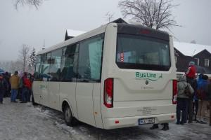 Prevoznik BusLine trenutno poseduje dva novosadska autobusa. ○ Martin Beneš