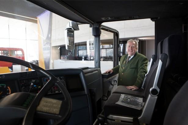 Konrad Ojverter, idejni tvorac dabldekera. © MAN Truck & Bus