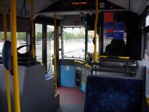 Vozači autobusa ne naplaćuju karte već se sve vrši beskontaktnim karticama. © Aleksandar Dragutinović