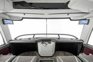 Brisač u vertikalnom položaju preuzet iz auto trka za bolju aerodinamiku. © Daimler Media
