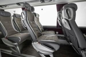 Maksimalan broj sedišta u vozilu je 83, isto kao i na prethodniku. © Daimler Media
