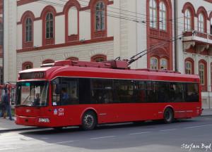 U upotrebi od 2010. godine, najnoviji i najbrojniji trolejbusi. © Stefan Nikolić