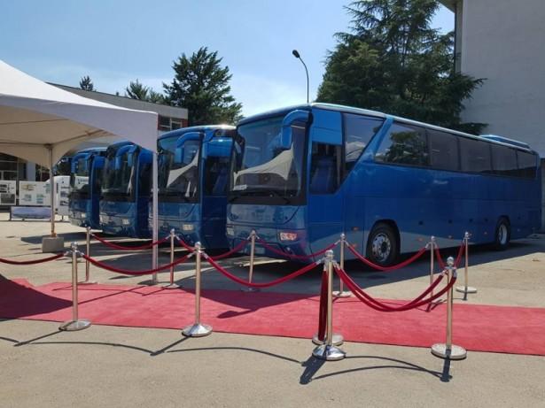 Autobusi izrađeni u Sanosu nose MAN motore. © MKD