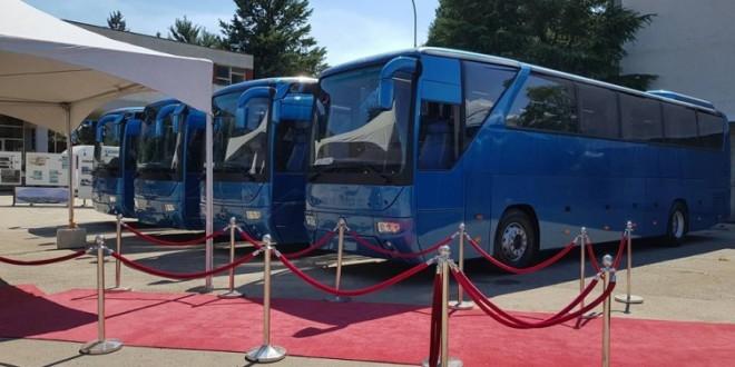 Sanos pravi autobuse za Kazahstan
