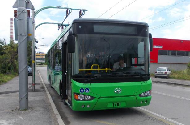 Higer prvi e-bus na ulicama Sofije. © CometBG