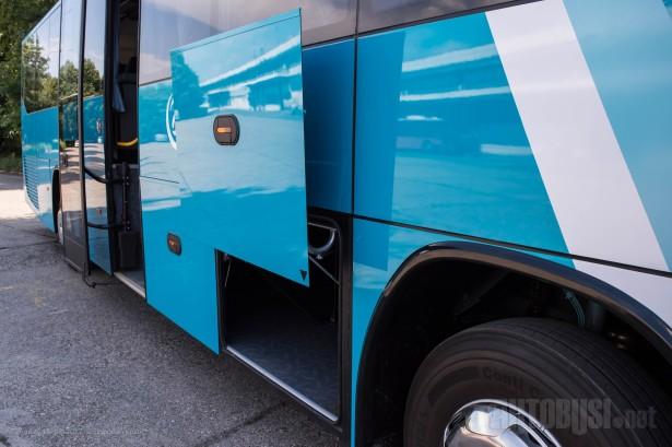 Prtljažni prostor sasvim dovoljan za međugradski autobus. © Slobodan Kostić