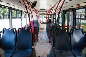 Vozilo poseduje 48 sedišta i prima ukupno 160 putnika. © Slobodan Kostić