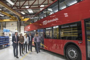 Today 22 August 2017 Prime Minister Theresa May visits Alexander Dennis coach manufacturers in Guildford, Surrey.   Prime Minister visits the site where Dennis coaches are manufactured to discuss the new £40million deal which has just been put in place with Mexico.
