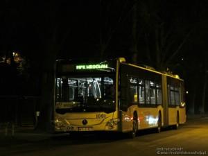 Dokazao se na probi. Citaro G C2 na probi krajem 2012. i početkom 2013. godine. © Wroclawska Komunikacja