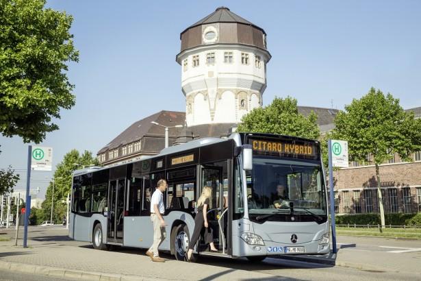 Unikat među hibridima po načinu rada. © Daimler