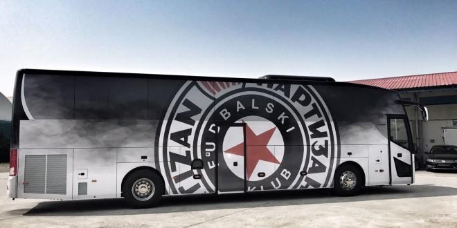 """Temsa prevozi FK """"Partizan"""""""