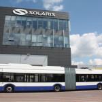 Evropska premijera: trolejbus sa gorivnom ćelijom. © Solaris Bus & Coach