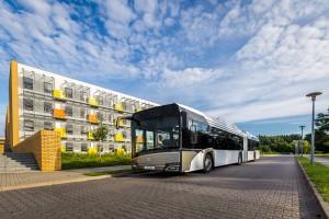 Zglobni Solaris uvek karakterističan po pitanju pogona. © Solaris Bus & Coach