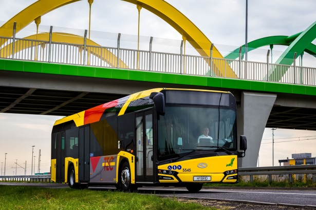 Čak 208 ovakvih autobusa će prevoziti Belgijance. © Solaris Bus & Coach