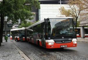 Još 150 ovakvih autobusa prevoziće građane Praga. © Milan Petrović