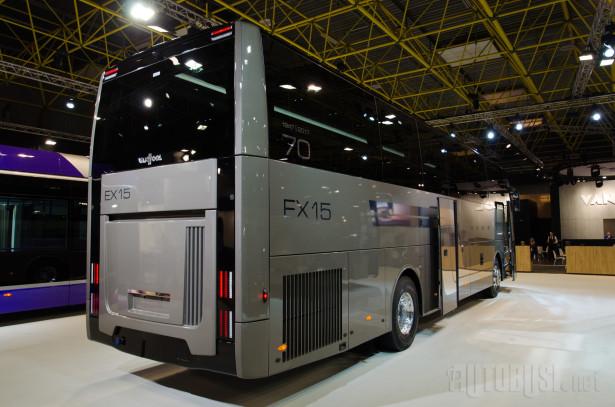 Model EX 15 H je najkraći autobus u EX gami.